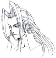 Sephiroth_Portrait_Sketch